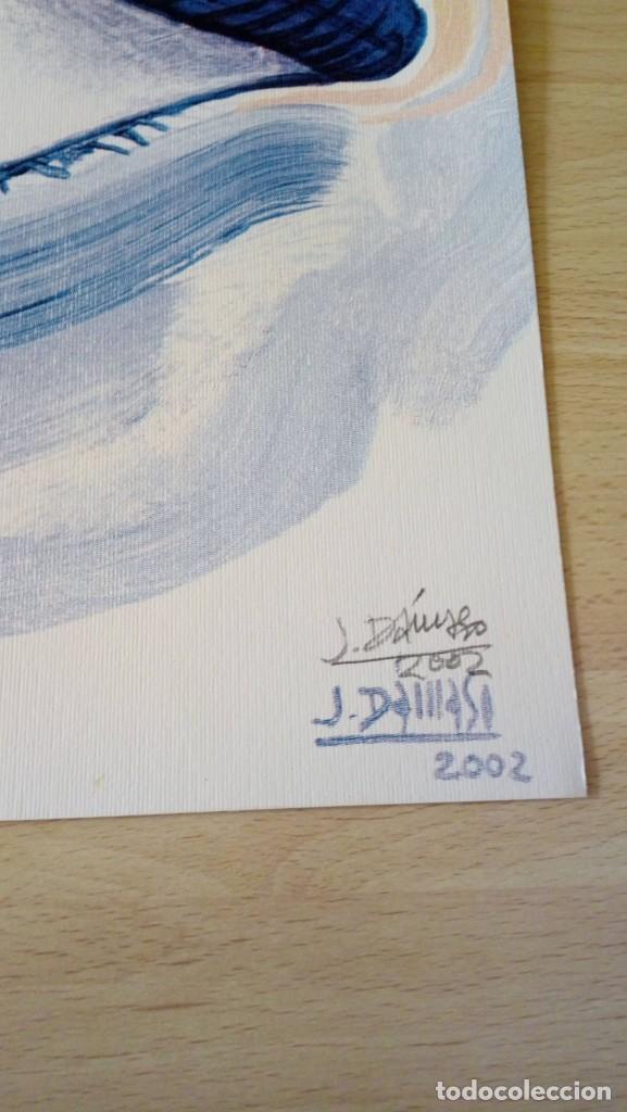 Arte: Pepe Dámaso Edición Serigráfica Numerada limitada y firmada 2002 - Foto 2 - 194690831