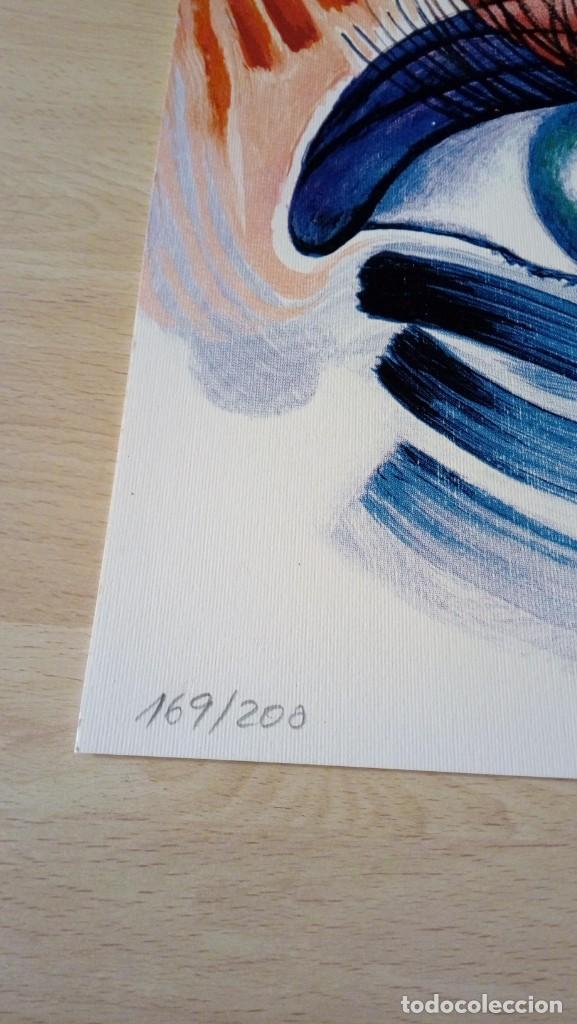 Arte: Pepe Dámaso Edición Serigráfica Numerada limitada y firmada 2002 - Foto 3 - 194690831