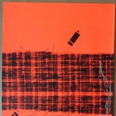 Arte: CRISTÓBAL GABARRON (MULA, MURCIA, 1945) SERIGRAFÍA DE 50X68, FIRMADA A LÁPIZ Y NUMERADA DE SOLO /65. Lote 194784426
