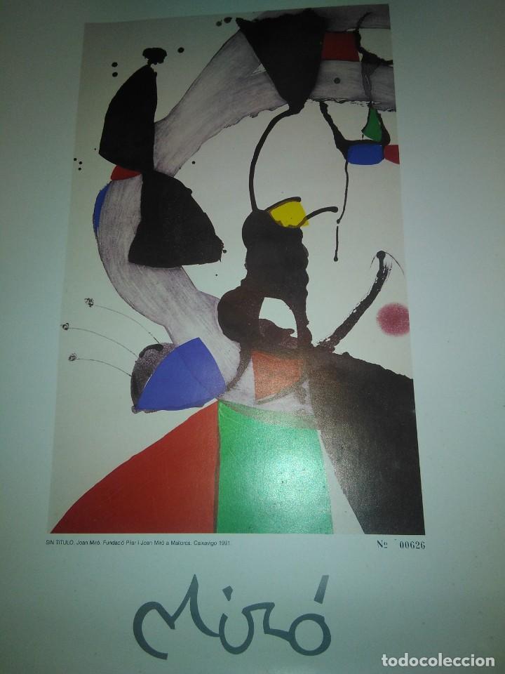 LAMINA JOAN MIRO (Arte - Serigrafías )