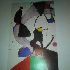Arte: LAMINA JOAN MIRO. Lote 194974727