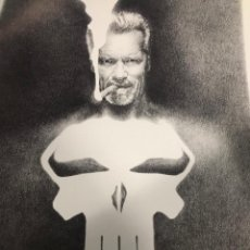 Arte: SANJULIAN SCHWARZENEGGER THE PUNISHER. Lote 195277393