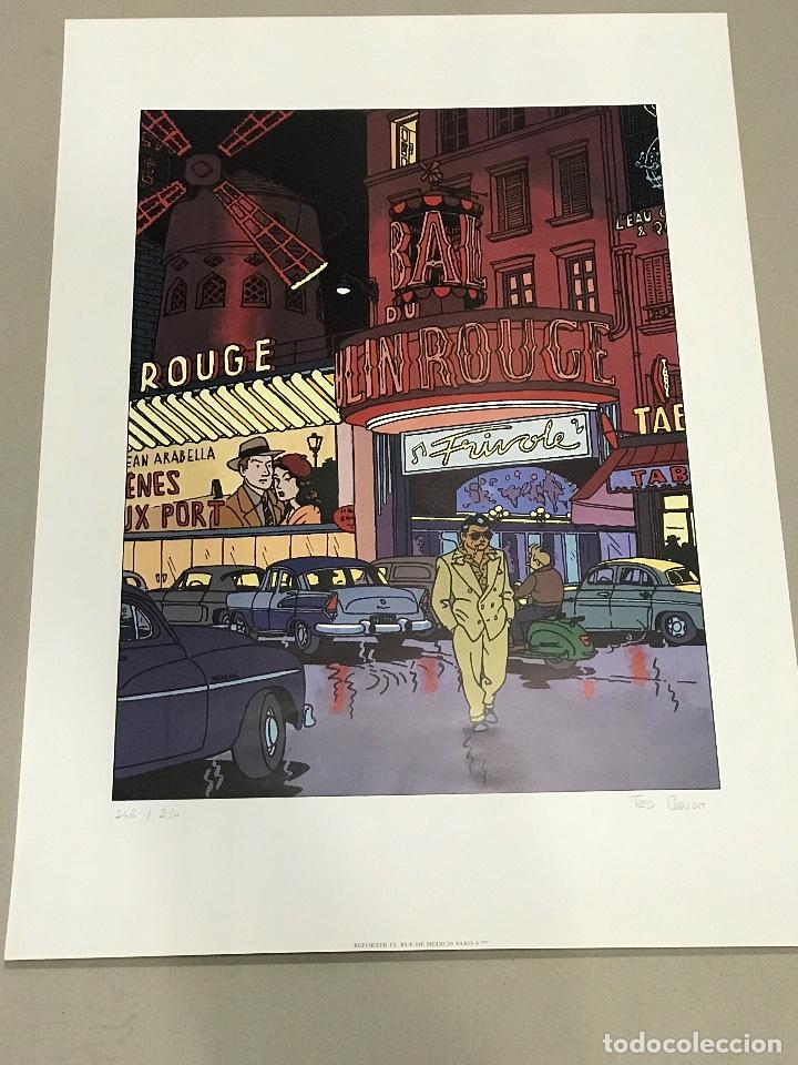 TED BENOIT, RAY BANANA. AFFICHE (Arte - Serigrafías )