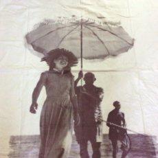 Arte: GRAN SERIGRAFÍA SOBRE ALGODÓN PABLO PICASSO Y FRANÇOISE GILOT 1948. Lote 195386395