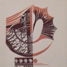 Arte: MARGARIDA MARCH. SERIGRAFÍA ABSTRACCIÓN. FIRMADA A MANO Y NUMERADA 90/180. 1988. 33X25 CM.. Lote 196154440