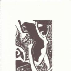Arte: SERIGRAFIA MANOS Y MUJER CORRIENDO. FIRMADA A MANO Y NUMERADA 27/60. PAPEL GUARRO. BUEN ESTADO. 1994. Lote 196886048