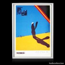 Arte: EDUARDO ARROYO, L'AFRICANA 90DE100 - EDIT IL BISONTE, FLORENCIA 1972 LITOGRAFÍA A COLOR 65,5X46,5 CM. Lote 197375867
