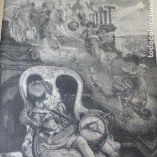 Arte: LA VISPERA DEL DIA DE REYES POR COMBA SERIGRAFIA 1885 . Lote 200529276