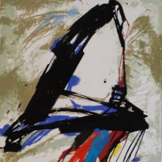 Arte: CLAUS GERO HEITMANN / SERIGRAFÍA, 1989 / INFORMALISMO. Lote 91657125