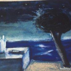 Arte: GRABADO SERIGRAFÍA JAUME ROURE SET DE NUIT II. FIRMADA Y NUMERADA POR EL ARTISTA 50/90. Lote 202909846