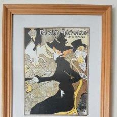Arte: CUADRO, TOULOUSE-LAUTREC, DIVAN JAPONAIS, 1892, TAL CUAL SE VE.. Lote 203989436