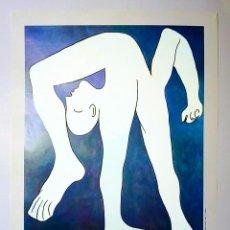 Arte: CARTEL DE - PABLO PICASSO- EL ACROBATA - EL SIGLO DE PICASSO 1988 EN REINA SOFIA MADRID 60 X 44CMS. Lote 204225568