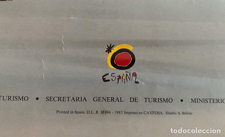 Arte: Picasso turismo España cartel 1985 - Foto 3 - 204824506