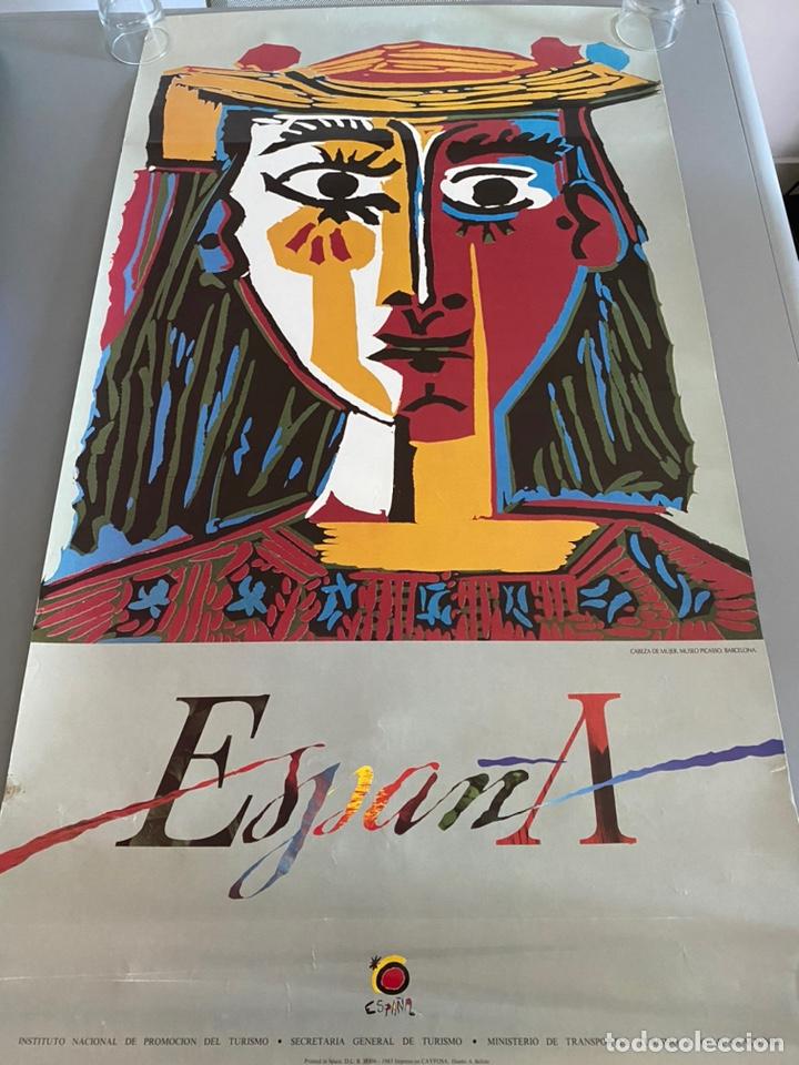 Arte: Picasso turismo España cartel 1985 - Foto 4 - 204824506