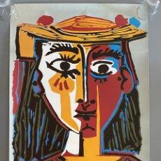 Art: PICASSO TURISMO ESPAÑA CARTEL 1985. Lote 204824506