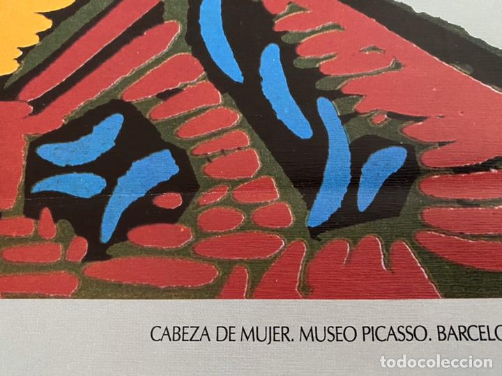 Arte: Picasso turismo España cartel 1985 - Foto 2 - 204824506