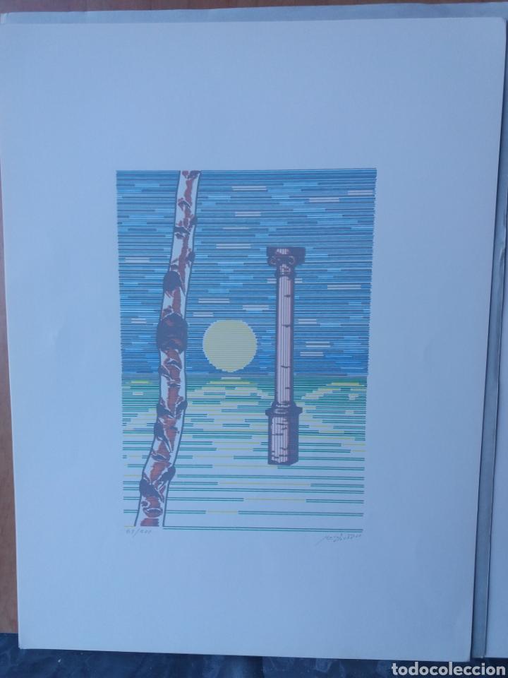 Arte: Cuatro láminas serigrafía firmadas por el autor y numeradas - Foto 3 - 205052887