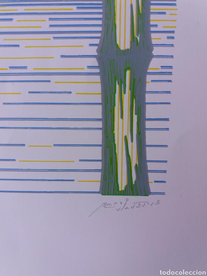 Arte: Cuatro láminas serigrafía firmadas por el autor y numeradas - Foto 6 - 205052887