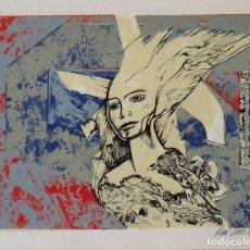 Arte: RAUL CAPITANI. SERIGRAFÍA FIGURA. FIRMADA A MANO Y NUMERADA 81/150. 1988. 25X33 CM.. Lote 205246966