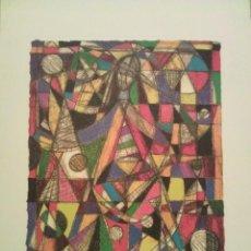 Arte: SERGI BARNILS . SERIGRAFÍA FIRMADA Y NUMERADA. Lote 205350253