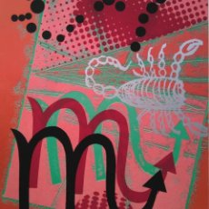 Arte: JUAN JOSÉ THARRATS. ESCORPIO, SERIE DEL ZODÍACO.. Lote 205549476