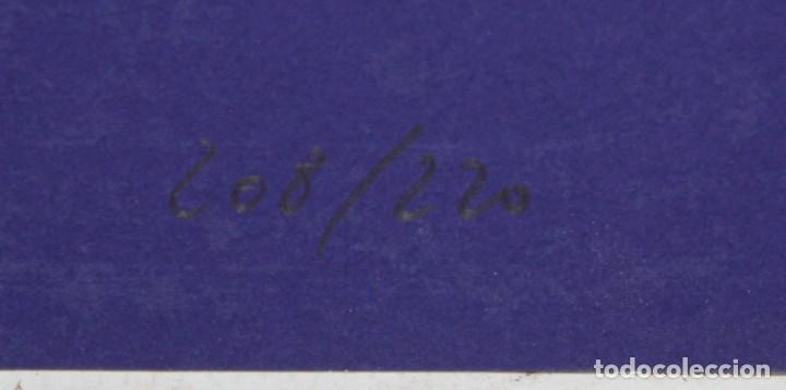 Arte: JOSE MARIA YTURRALDE (VALENCIA, 1942) PAREJA DE SERIGRAFIAS ORIGINALES DEL AÑO 1985. 185/220 - Foto 7 - 205689420
