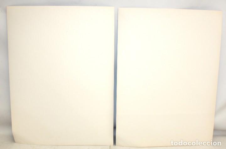 Arte: JOSE MARIA YTURRALDE (VALENCIA, 1942) PAREJA DE SERIGRAFIAS ORIGINALES DEL AÑO 1985. 185/220 - Foto 8 - 205689420