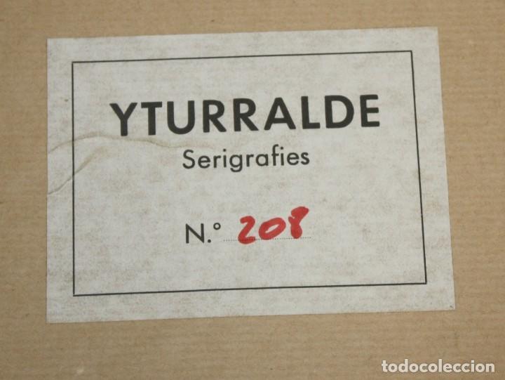 Arte: JOSE MARIA YTURRALDE (VALENCIA, 1942) PAREJA DE SERIGRAFIAS ORIGINALES DEL AÑO 1985. 185/220 - Foto 9 - 205689420