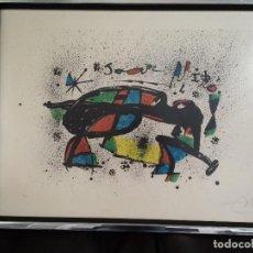 Arte: LITOGRAFIA JOAN MIRO - LA FORMIGA 1978. Lote 206378102
