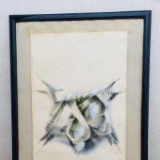 Arte: M. RIVES 75 SERIGRAFIA 413/460 ENMARCADA 86X71CMS. Lote 206452735