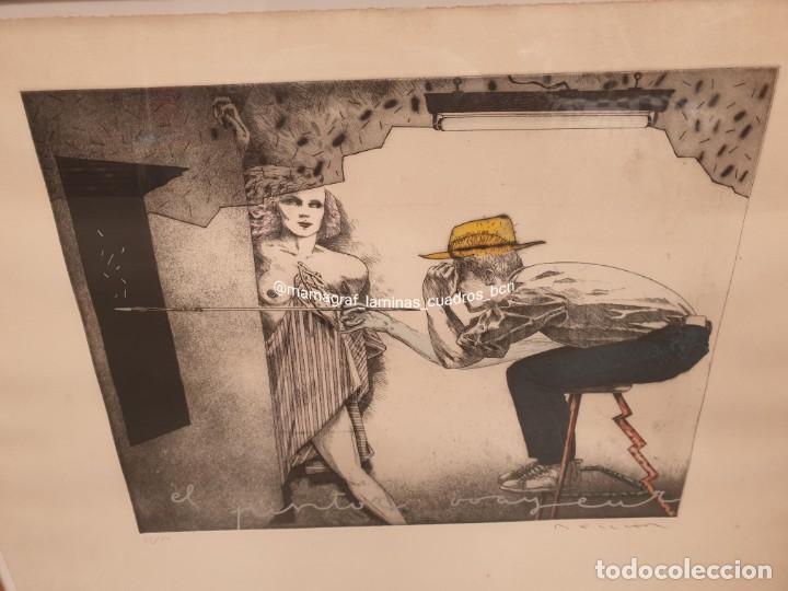 Arte: SERIGRAFIA. EL PINTOR. MAMAGRAF - Foto 5 - 206784115