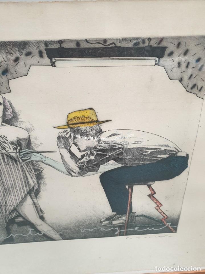 Arte: SERIGRAFIA. EL PINTOR. MAMAGRAF - Foto 8 - 206784115