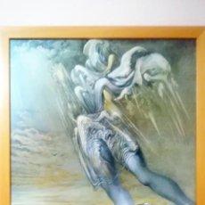 Arte: LAMINA CARTEL -SALVADOR DALÍ-ANGEL SURREALISTA- EDITA DASA PRODUCIONES MUSEO DALI -1980- 70 X 50 CM.. Lote 207043610