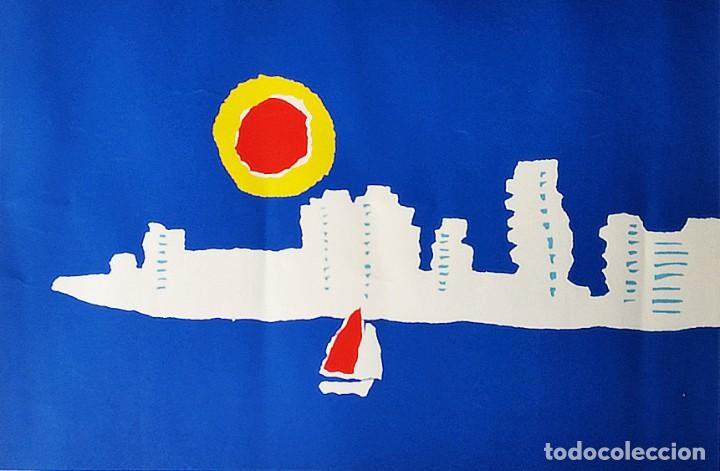 Arte: Alfredo, La Manga del Mar Menor, Serigrafía - Foto 2 - 208417136