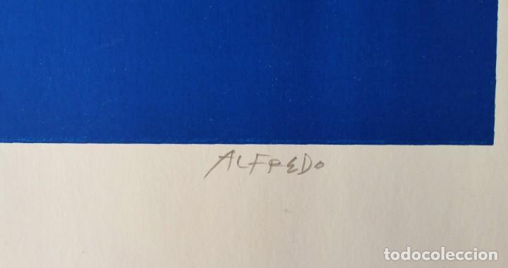 Arte: Alfredo, La Manga del Mar Menor, Serigrafía - Foto 5 - 208417136