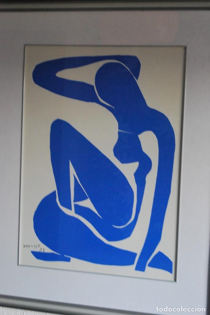 Arte: HENRI MATISSE - NU BLEU ,DESNUDO AZUL - SERIGRAFÍA ORIGINAL EDITADA POR SPADEM EN 1971 - FRANCIA - Foto 2 - 211828880