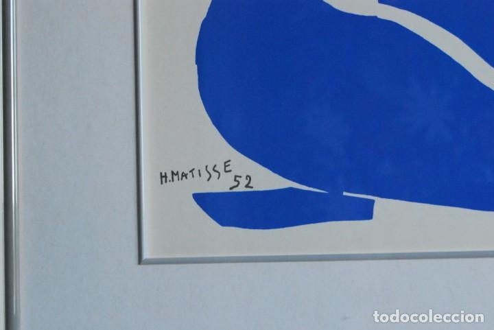 Arte: HENRI MATISSE - NU BLEU ,DESNUDO AZUL - SERIGRAFÍA ORIGINAL EDITADA POR SPADEM EN 1971 - FRANCIA - Foto 6 - 211828880
