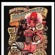 """Arte: ROCKIN'JELLY BEAN.""""BEAST MASTER"""" SERIGRAFÍA DE ALTA CALIDAD.LIMITADA A 100.FIRMADA Y NUMERADA. Lote 214635315"""
