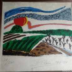 Arte: PEPA OSORIO SERIGRAFIA NUMERADA ASTURIANA.. Lote 214706625