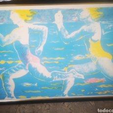 Arte: MARIA TERESA PERIS ESTRADA. 104X75CM. ENMARCADA. Lote 215071253