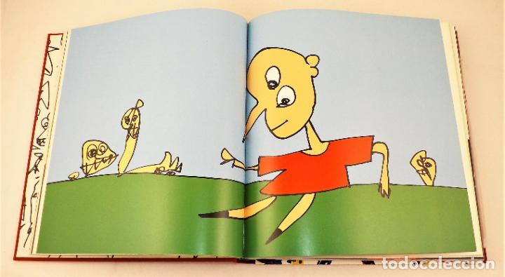 Arte: Pinocho de Antonio Saura. Ed. limitada a 300 ejemplares + Serigrafía firmada - Foto 2 - 216952456