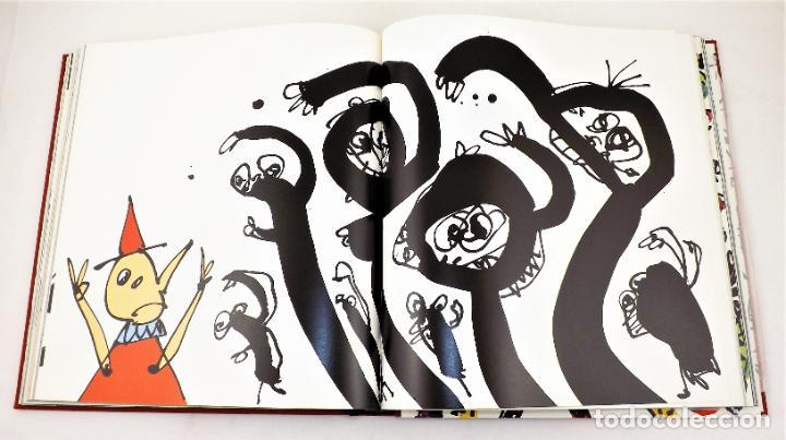 Arte: Pinocho de Antonio Saura. Ed. limitada a 300 ejemplares + Serigrafía firmada - Foto 3 - 216952456