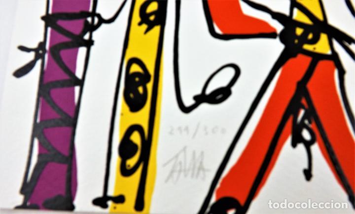 Arte: Pinocho de Antonio Saura. Ed. limitada a 300 ejemplares + Serigrafía firmada - Foto 5 - 216952456
