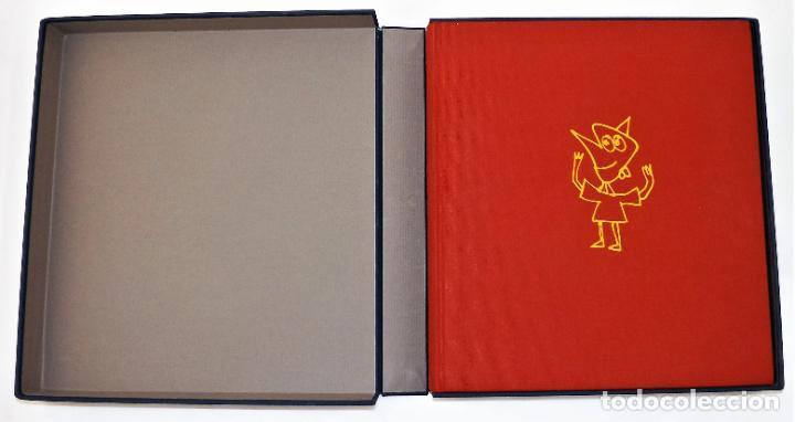 Arte: Pinocho de Antonio Saura. Ed. limitada a 300 ejemplares + Serigrafía firmada - Foto 6 - 216952456