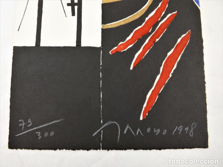 Arte: Don Juan tenorio de José Zorrilla + Aguafuerte original firmado por Eduardo Arroyo - Foto 3 - 217021580