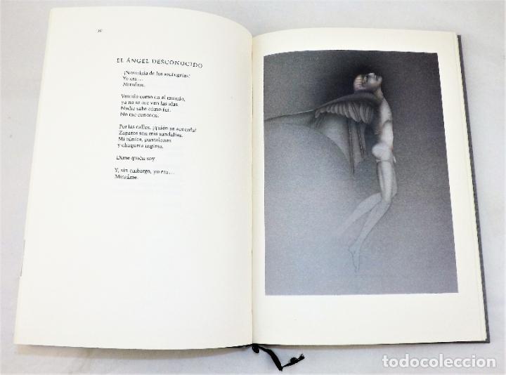 Arte: Rafael Alberti Sobre los ángeles+Serigrafía de Paul Wunderlich firmada y numerada Ed. Limitada - Foto 2 - 217022853