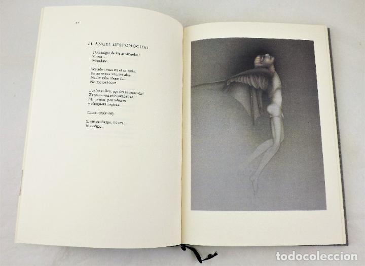 Arte: Rafael Alberti Sobre los ángeles+Serigrafía de Paul Wunderlich firmada y numerada Ed. Limitada - Foto 3 - 217022853