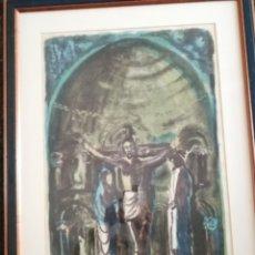 Arte: SERIGRAFIA FIRMADA EN 1969 Y TIRADA 2/10.. Lote 217121707