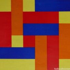 Arte: RICHARD PAUL LOHSE - FARBENENERGIEEN IN 4 RICHTUNGEN. Lote 217388648