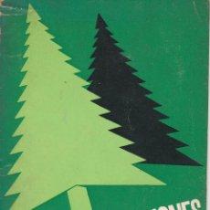 Arte: DIVULGACIONES FORESTALES DE ALFREDO PELLOS EDITADO POR LA CAJA DE AHORROS VIZCAINA EN 1966. Lote 218480381
